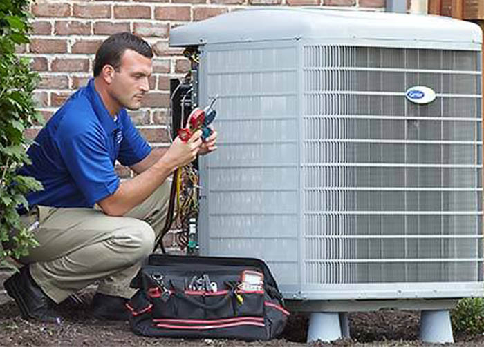 Air conditioning repair at Pompano Beach Home